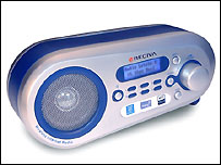 A prototype of Reciva's Wireless Internet Radio
