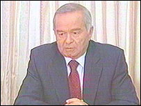 Uzbek President Islam Karimov