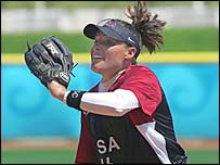 USA star pitcher Lisa Fernandez
