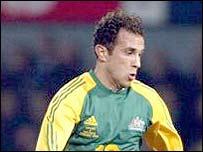 Australian midfielder Marco Bresciano