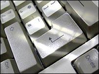 Teclado de una computadora