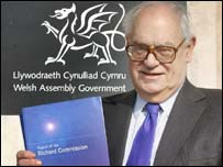 Lord Richard has been two years preparing his report