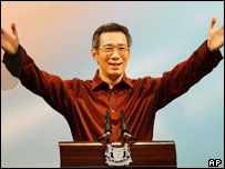 Singapore's new Prime Minister Lee Hsien Loong