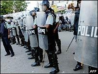 Police in Dhaka