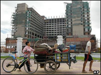 New hotel and casino being built in Cambodia