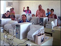 Teacher training in Samoa