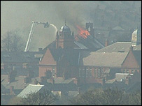 Fire at St Augustine's Church