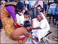 Kailashgiri Brahmachari and mother Kethakdevi