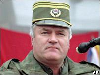 Serbian General Ratko Mladic