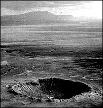 Meteor crater, USGS