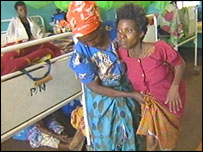 Patients in Malawi