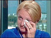 Рэдклифф сказала, что сошла с дистанции, потому что не чувствовала ног