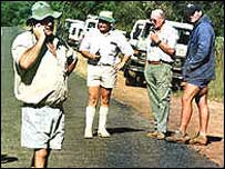 White farmers in Zimbabwe
