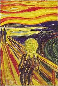 """""""El grito"""", de Edvard Munch"""