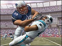Screenshot from Madden NFL 2005
