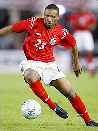 England debutant Jermain Defoe