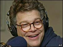 Comedian Al Franken