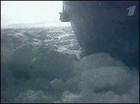 'Челюскин' во льдах (архивные съемки)