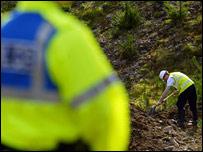Digging begins at the quarry