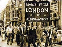 The first Aldermaston march