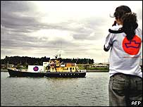 A floating abortion clinic (file photo)