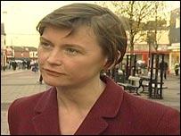 Housing Minister Yvette Cooper MP