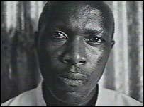Gitera Rwamuhuzi who took part in the Rwandan genocide