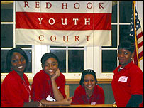 Members of Red Hook Youth Court