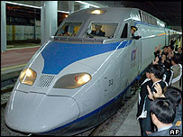 KTX  high speed train