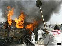 Many attacking body in Falluja