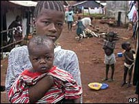 Children in Sierra Leone