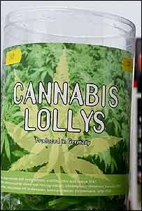 Cannabis lollies
