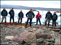 The team, Royal Navy Expedition