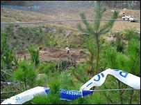 Digging at Dalmagarry quarry