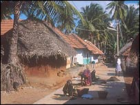 Village in Tamil Nadu, southern India