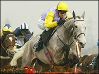 Iris's Gift wins the opening race of the Aintree meeting