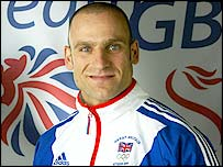 Tony Ally at the 2004 Olympics