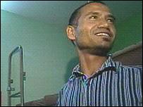 Asylum seeker Sharoc from Nepal