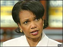 Condoleezza Rice, President Bush's National Security Adviser