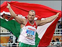 Венгерский атлет Роберт Фазекаш
