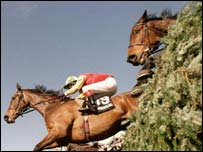Runners and riders in the Grand National, PA