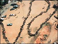 Queues to vote in South Africa