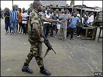 Ivorian Soldier