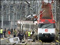 Second train attack in Madrid