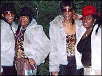 from left; Cheryl Shaw, Charlene Ellis, Sophie Ellis and Letisha Shakespeare