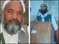 Haji Malik Zareef (L) and Haji Namdar