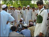 Tribesmen opposed to Haji Namdar