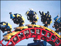 Ride at Pleasureland, Southport