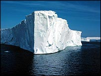 Antarctic ice shelf (British Antarctic Survey)