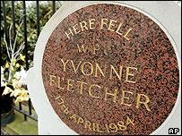 Memorial to WPC Fletcher
